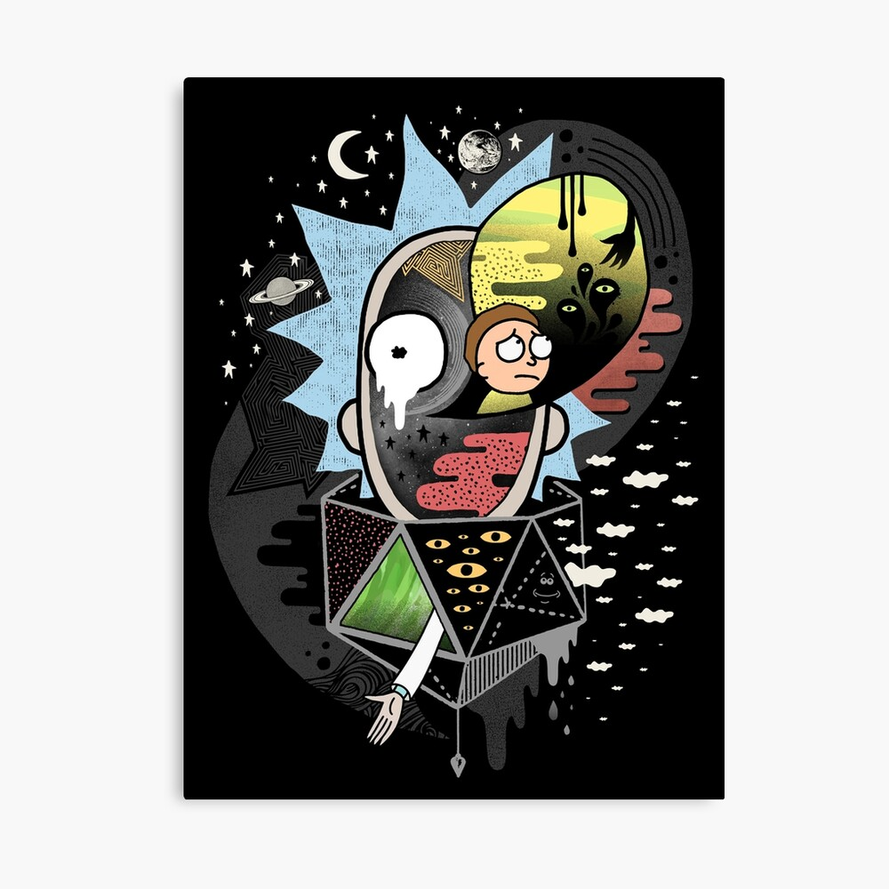 Rick Polarity Canvas Print