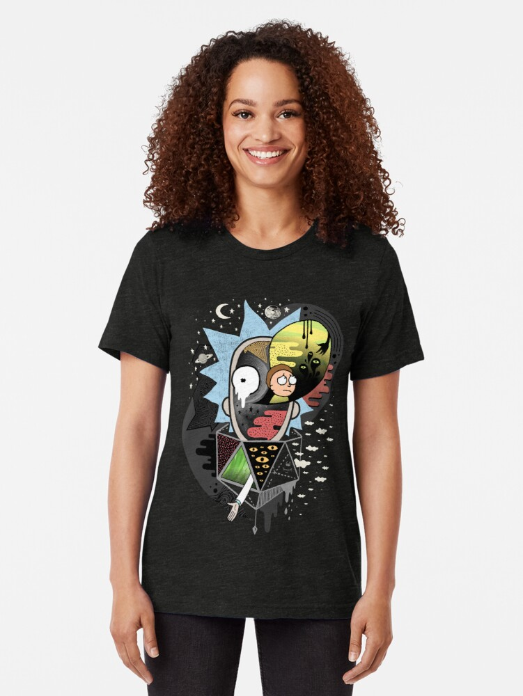 Alternate view of Rick Polarity Tri-blend T-Shirt