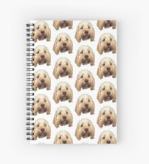 personalised dog Spiral Notebook