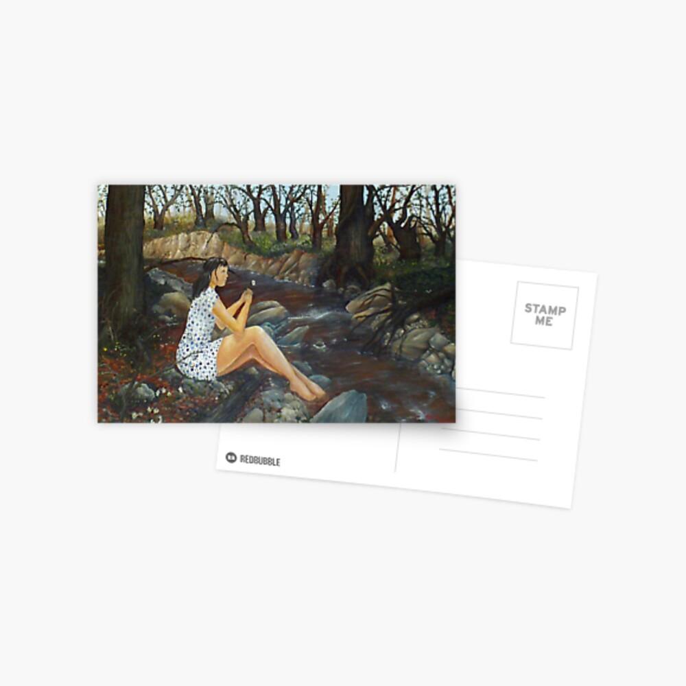 Effeuiller la marguerite Postcard