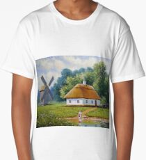 Rural landscape Long T-Shirt
