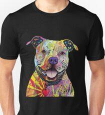 Camiseta ajustada Camisetas PitBull Camiseta Pit Bulls colorida