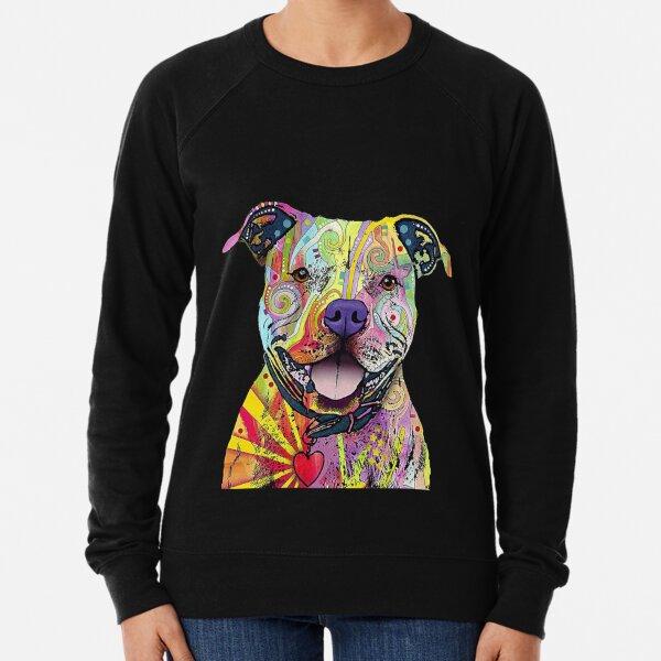 PitBull T-Shirts Colourful Pit Bulls T-Shirt Lightweight Sweatshirt