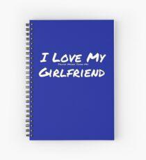 I Love My 'Truck More Than My' Girlfriend Spiral Notebook