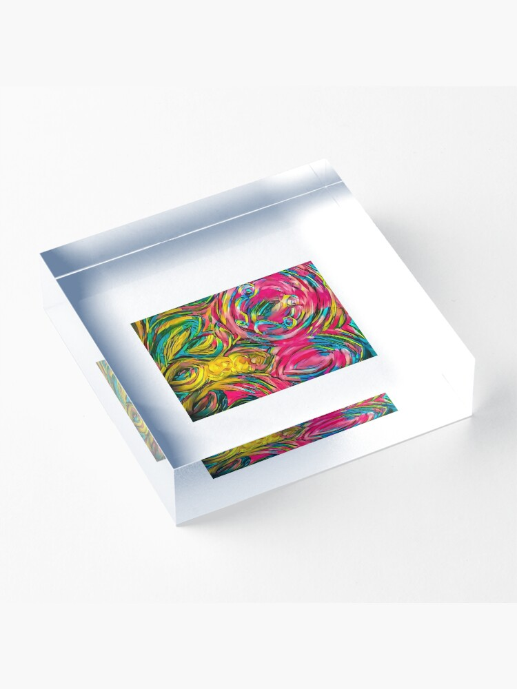 Alternate view of Inspiration Acrylic Block