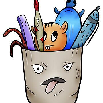 Crazy school tools by Melcu
