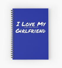 I Love My 'Turtle More Than My' Girlfriend Spiral Notebook