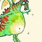 Ms Dragon- digital illustration  by Donata Zawadzka