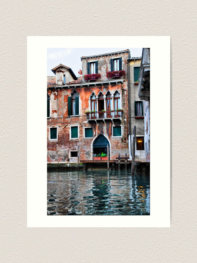 Alternate view of Watercolor Venice Art Print