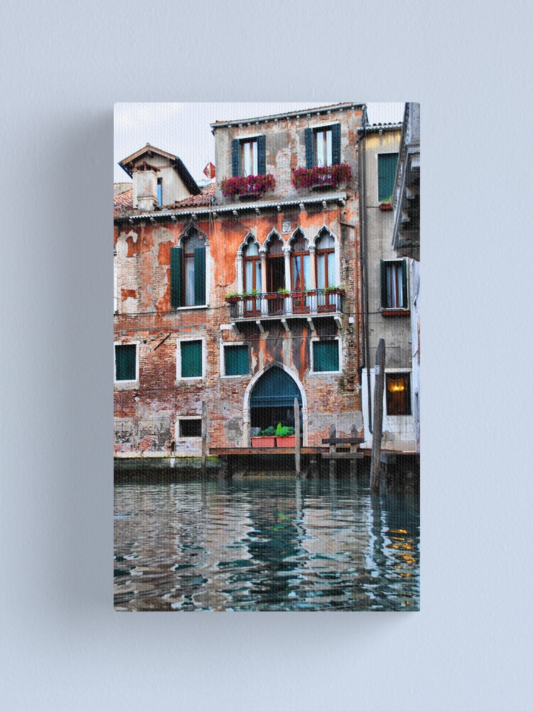 Alternate view of Watercolor Venice Canvas Print