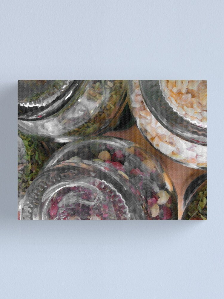 Alternate view of Herbs and spices 2 Canvas Print