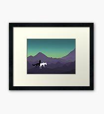 Mountain Dreamin' Framed Print