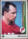 431 - Don Carman by Foob's Baseball Cards