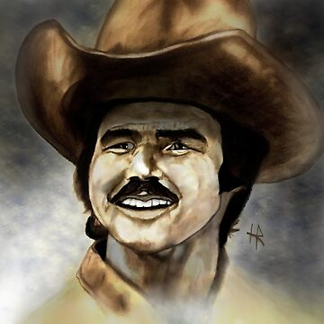 Burt Reynolds by firefly1n1