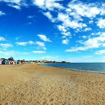 Beach Houses - Brighton Beach by whysee