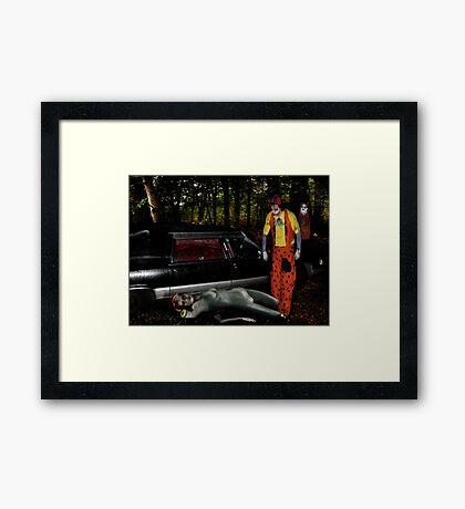 Call For Pick Up Framed Print