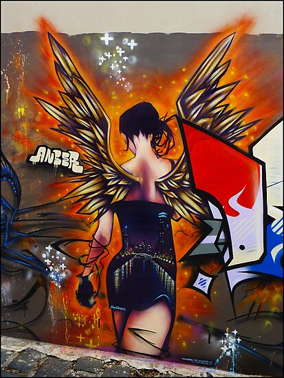 Angel of the streets by Albert Sulzer