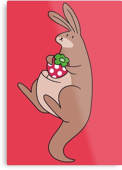 Strawberry Kangaroo by SaradaBoru