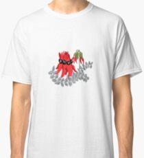 Australian Sturt Desert Pea Pattern Classic T-Shirt