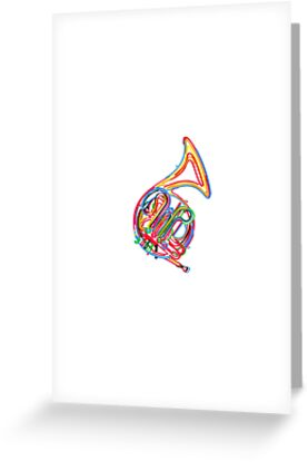 French horn by Richard Laschon