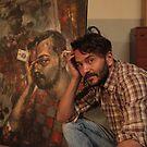 My friend artist Michał . by Dr.Andrzej Goszcz. by © Andrzej Goszcz,M.D. Ph.D