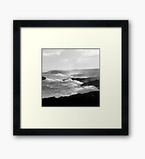 Ness, Isle of Lewis - White Horses Framed Print