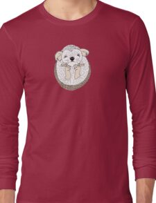 A Family of Hedgehogs Long Sleeve T-Shirt