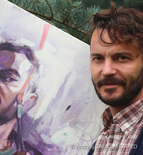 A Portrait of the Artist  . © Dr.Andrzej Goszcz. 06.10.2018. by © Andrzej Goszcz,M.D. Ph.D