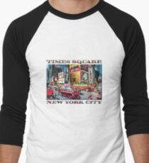 Times Square II Special Edition I Baseball ¾ Sleeve T-Shirt