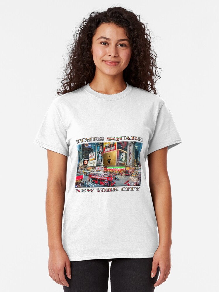 Alternate view of Times Square II Special Edition I Classic T-Shirt