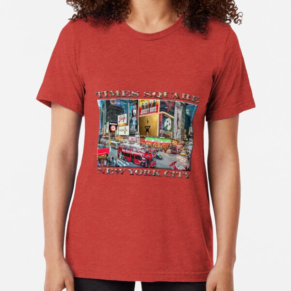Times Square II Special Edition I Tri-blend T-Shirt