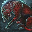 Watercolor Wildlife: Strife (Spotted Hyaena) by NoelleMBrooks