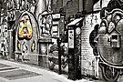 Street Art 1 - selective colour by PhotosByHealy
