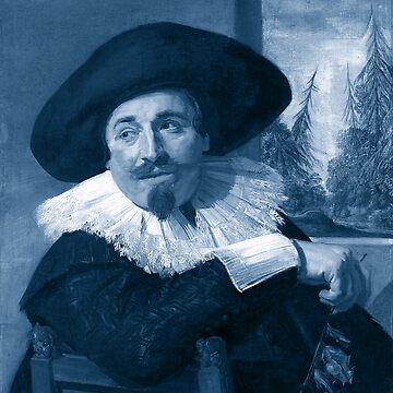 "Frans Hals ""Portrait of Isaac Abrahamsz"" edited by ALD1"