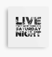 Live from NY Metal Print