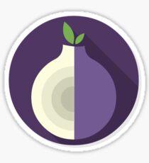 Tor Flat Logo Sticker