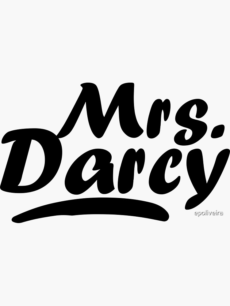 Mrs Darcy Pride and Prejudice  by epoliveira