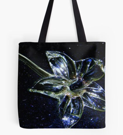 Glass Flower Tote Bag