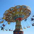 flying chairs by cricri