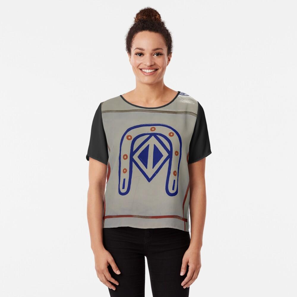 Emblem, #Emblem Chiffon Top