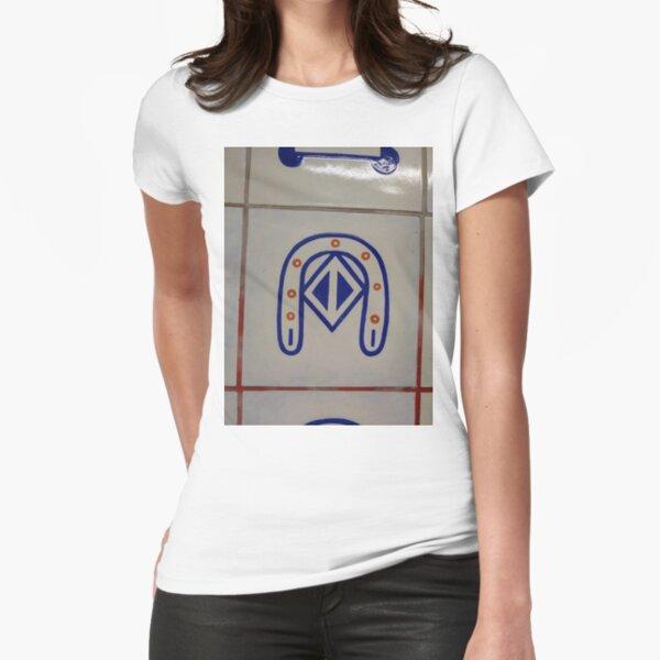 Emblem, #Emblem Fitted T-Shirt