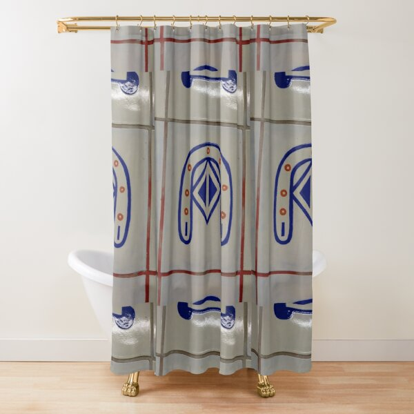 Emblem, #Emblem Shower Curtain