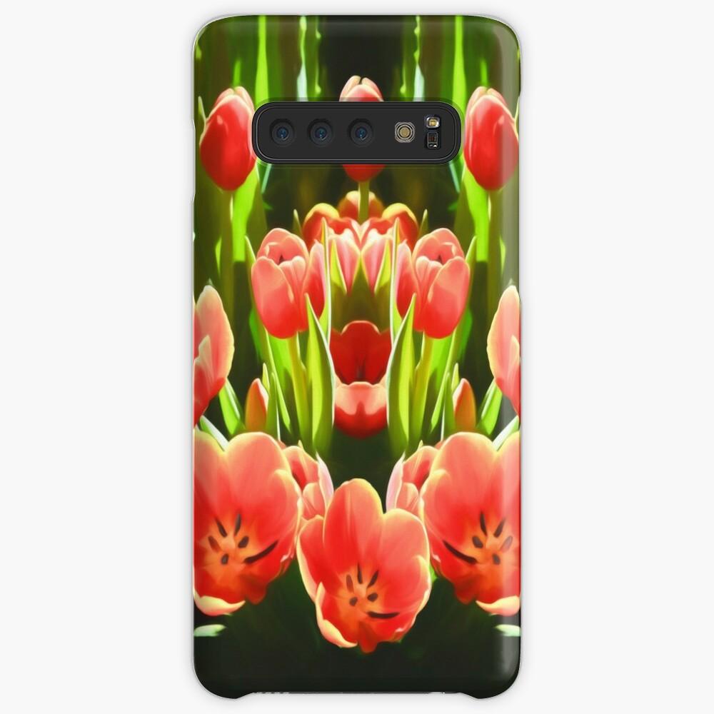 Tulips (digital painting) Samsung Galaxy Snap Case