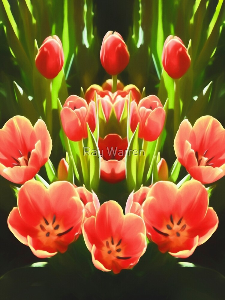Tulips (digital painting) by RayW