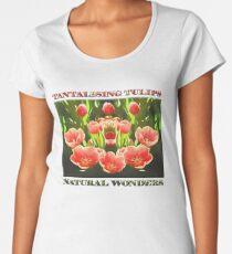 Tulips (digital painting) Premium Scoop T-Shirt