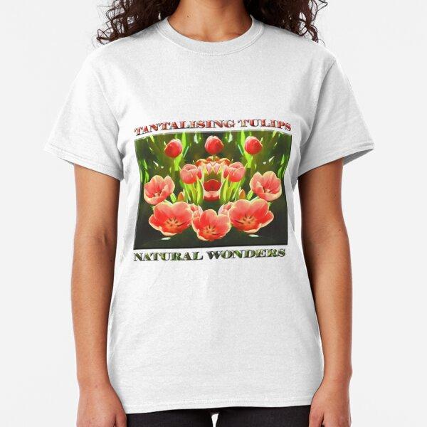 Tulips (digital painting) Classic T-Shirt