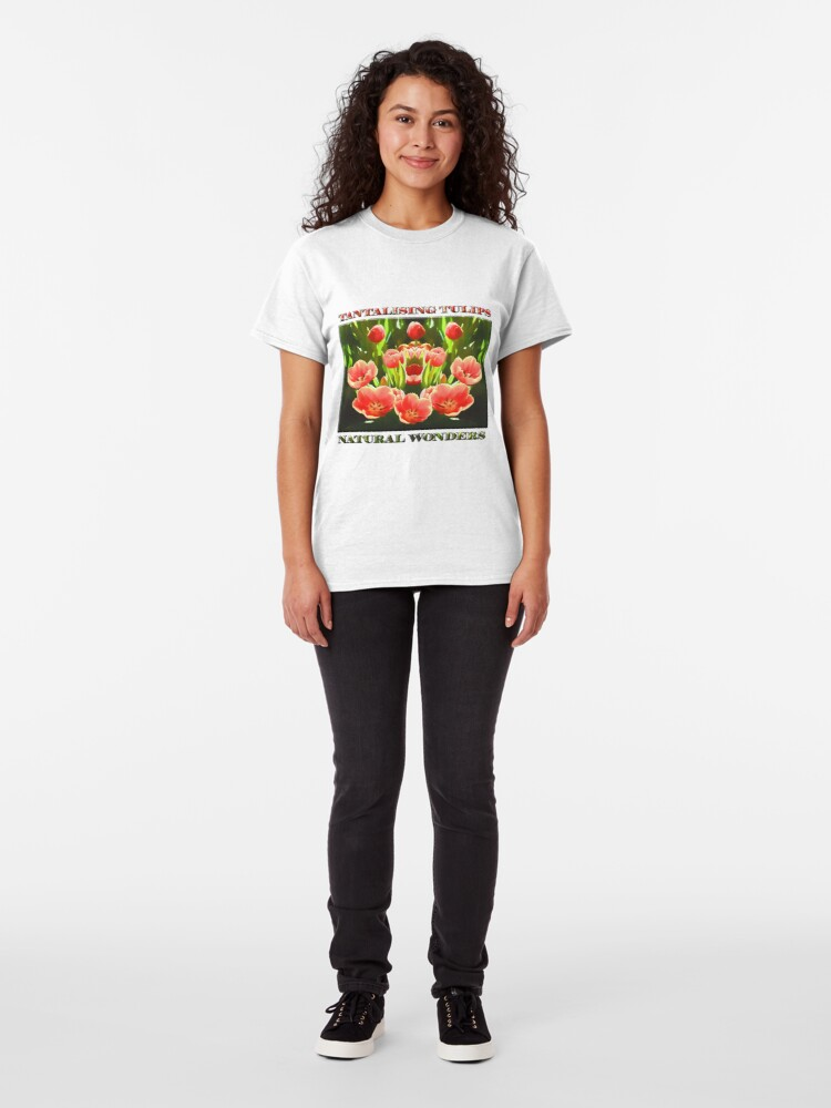 Alternate view of Tulips (digital painting) Classic T-Shirt