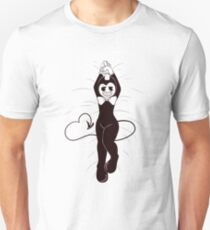 Bendy THICC on bed Unisex T-Shirt