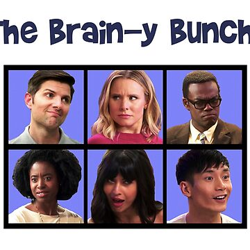 #TheGoodPlace–The Brain-y Bunch by michaelroman