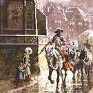 Armed Knights in Tübingen, Baden-Württemberg by edsimoneit